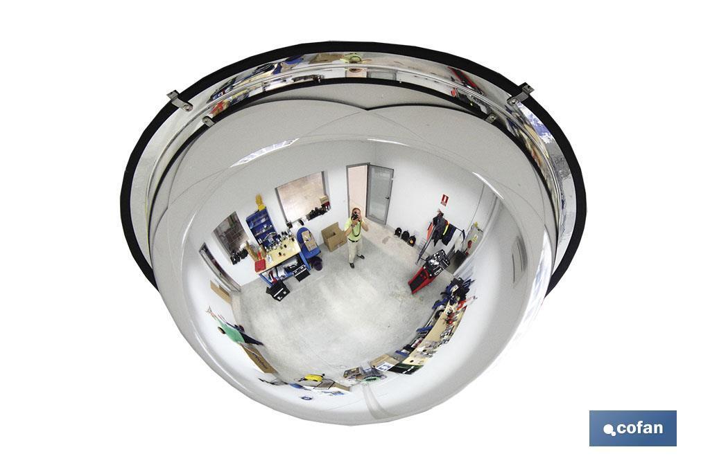 Espejo Hemisférico 360°
