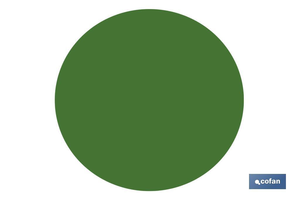 Circulos Adhesivos Verde