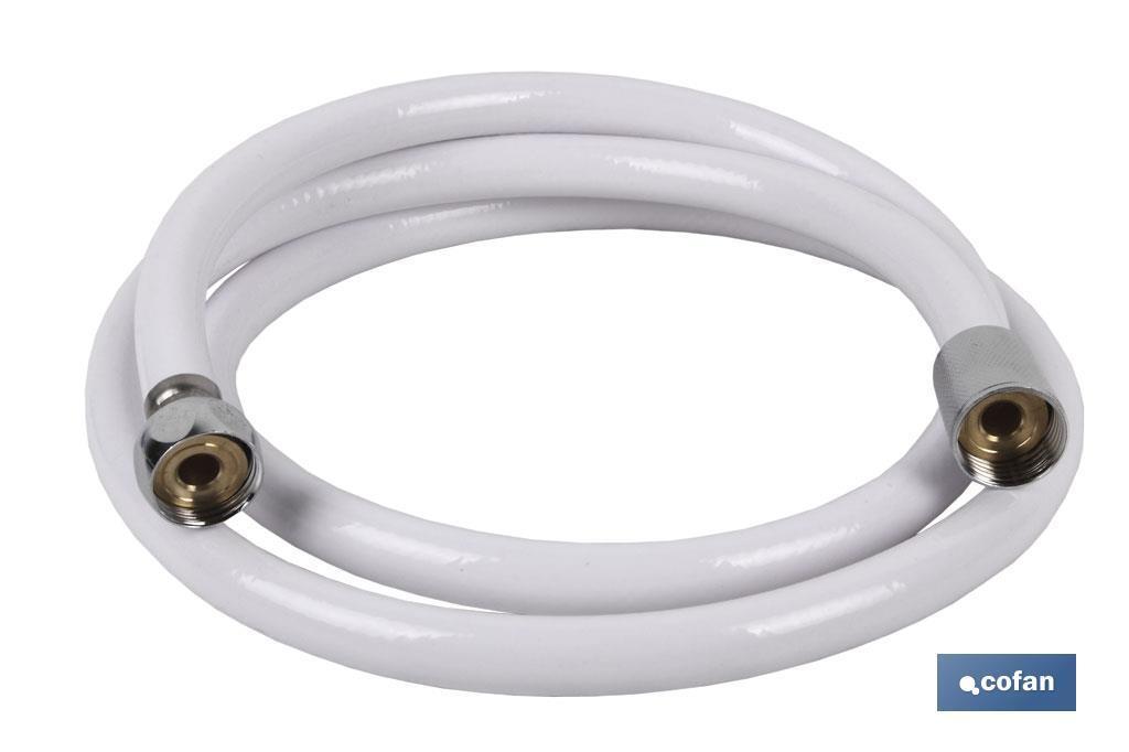 Flexo Ducha PVC BLANCO 1,5M