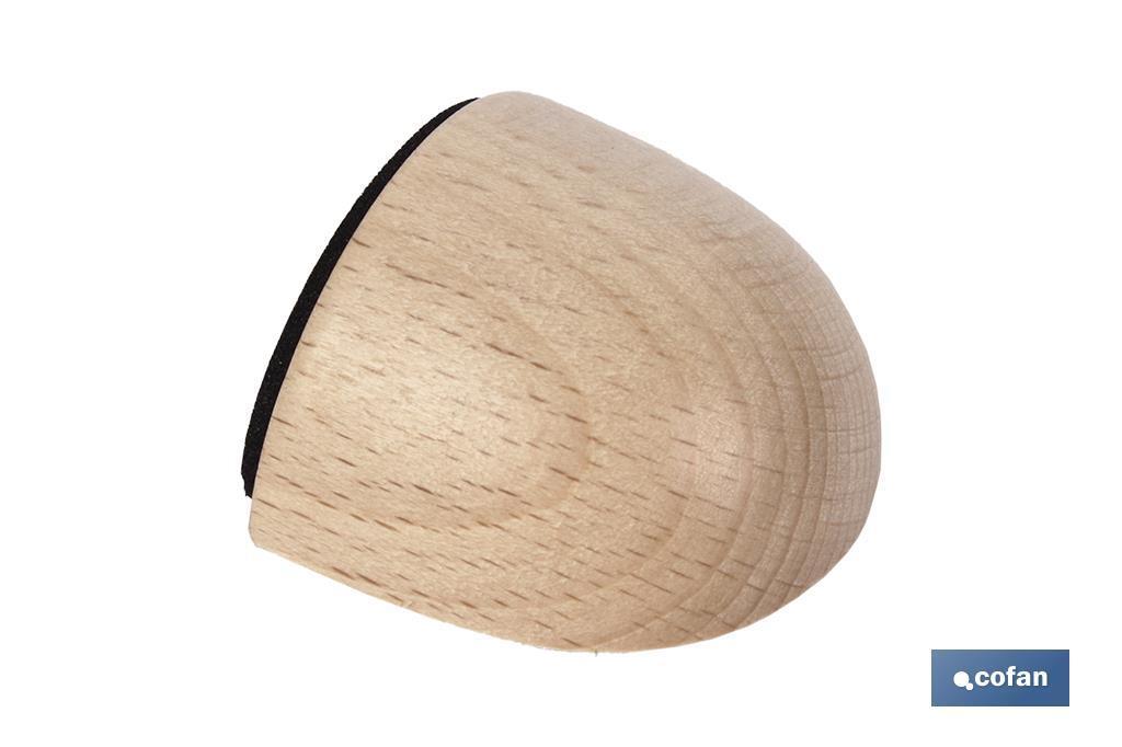 Tope adhesivo ovalado