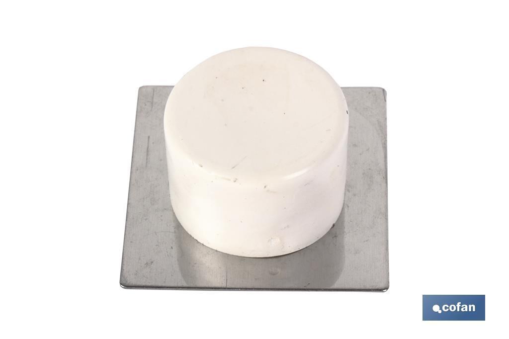 Tope adhesivo base Inox
