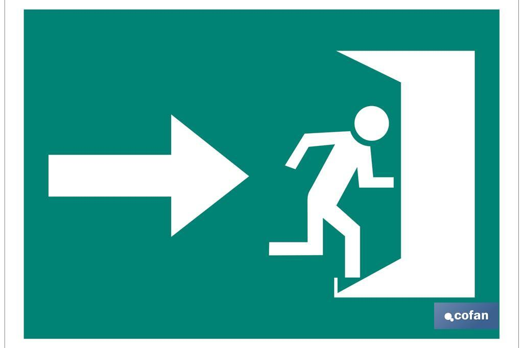 Salida emergencia Derecha