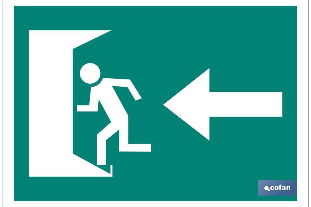 Salida emergencia Izquierda