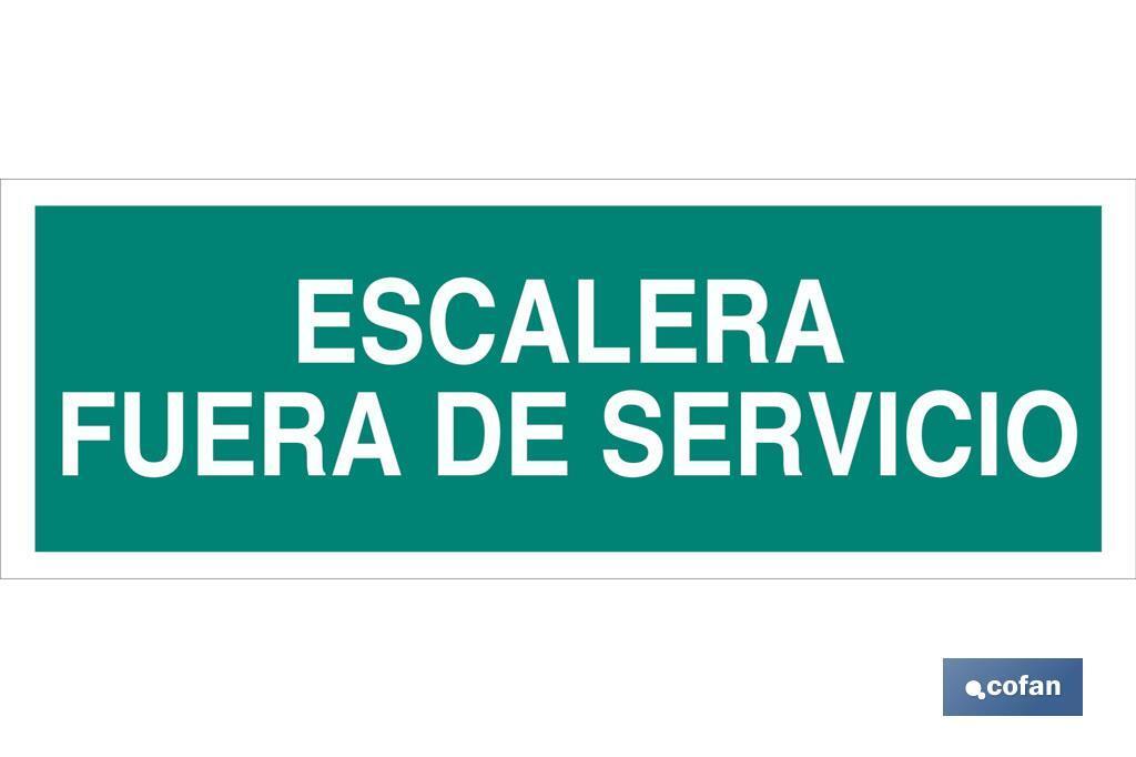 Escalera Fuera de Servicio