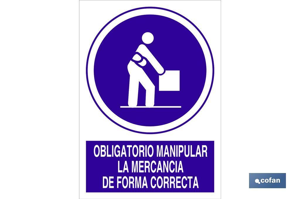 Obligatorio manipular mercancia correctamente