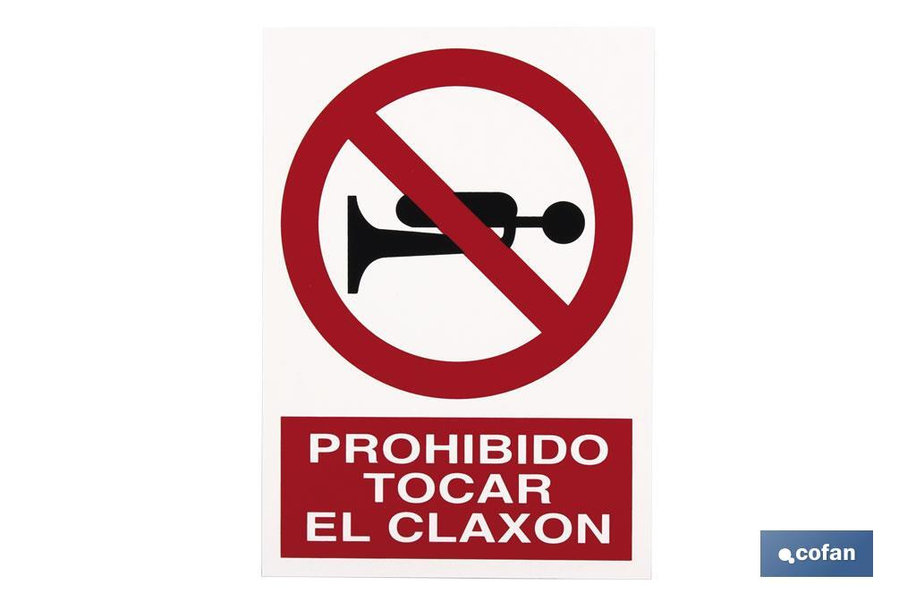 Prohibido Claxon