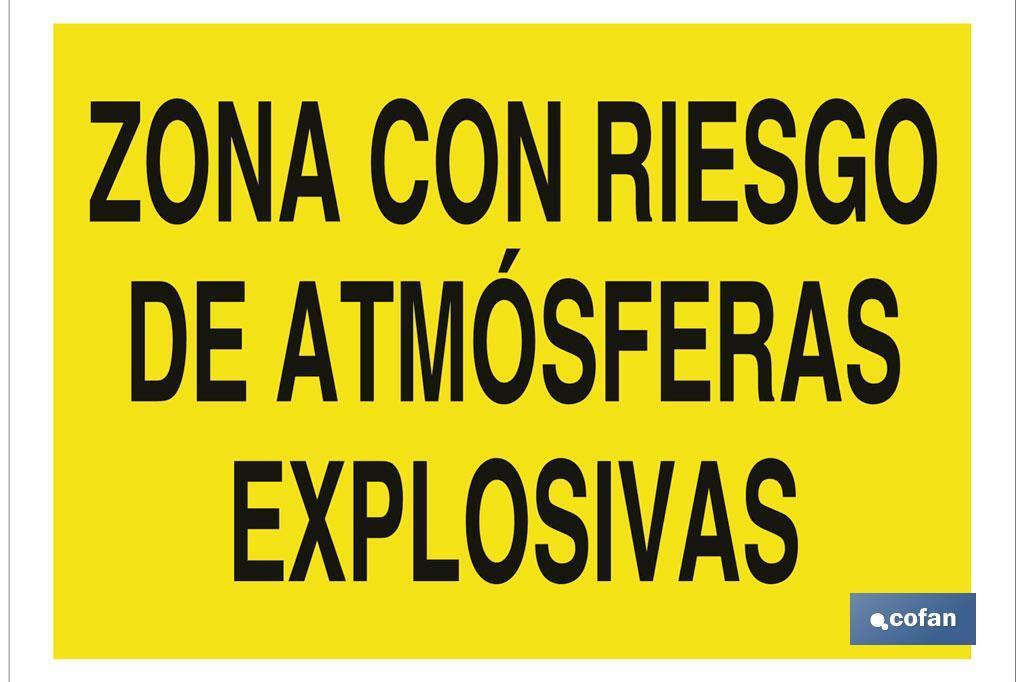 Zona con riesgo de atmósferas explosivas